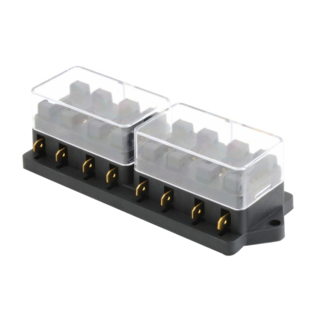 y107 8 way fuse box block fuse holder box car vehicle circuit Fuse Block Marine Applications and y107 8 way fuse box block fuse holder box car vehicle circuit automotive blade 250v car at Fuse Types of Blocks