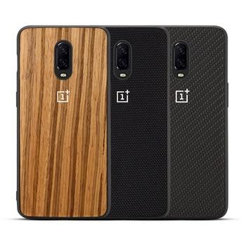 Oneplus 6 t 사암 실리콘 나일론 범퍼 케이스 oneplus 6 6 t 5 t 5 전화 커버 용 새 전화 케이스