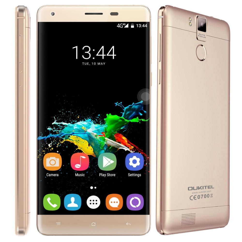 OUKITEL K6000 Pro Original Cellphone 32GB ROM 3GB RAM 5 5 inch Android 6 0 MTK6753