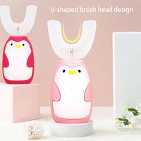 Children's Electric Toothbrush Sonic Brush Teeth Child Automatic Toothbrushs Cartoon USB Charging IPX7 Waterproof Toothbrush