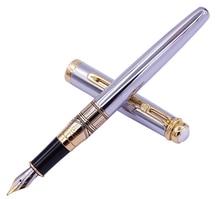 Regal The British Museum Commemoration Fountain Pen Germany Iridium Medium Nib, Noble Silver Business Graduation Gift