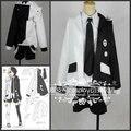 Dangan Ronpa Dangan-Ronpa Mono Kuma Black/White Bear Cosplay Costume Black and white bear costume