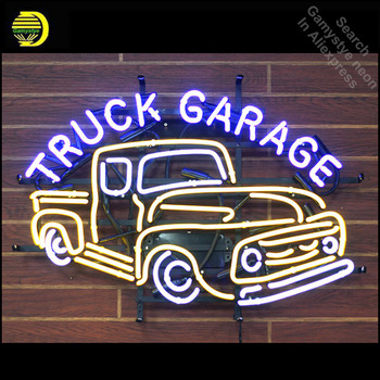 TRUCK GARAGE neon Signs Glass Tube neon lights Recreation Windows Iconic Sign Neon Light fluorescent signs neon lights for sale