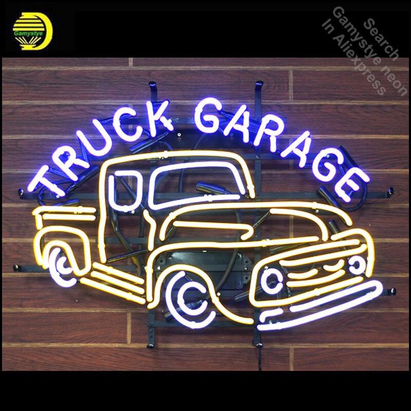neon signs garage lights light tube iconic glass sign windows sale fluorescent al recreation truck luci segno ricreazione finestre vetro