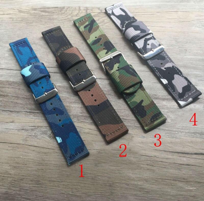 18 20 22 24 mm Nylon imperméable toile bracelet, Nato bracelet pour Sport  Watch montre de Style armée, Livraison gratuite 1c61132d10e