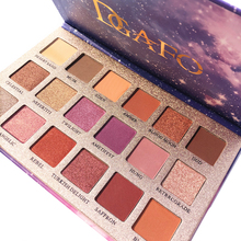 DGAFO 18Colors eye shadow palette Makeup Shimmer Matte eyeshadow Cosmetics Mineral Nude Palette