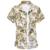 LONMMY M-6XL algodón Mercerizado floral camisas para hombre ropa de hombre de manga Corta camisa de La Flor Camisa sociales Slim fit Verano