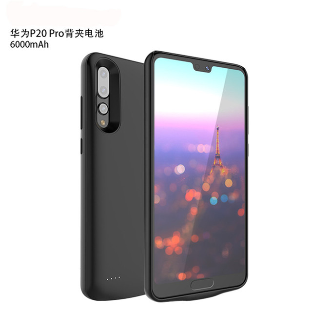 check out a3f28 e3a4a US $35.99  Battery Case For Huawei P20 Pro 6000mAh Power Bank Charging Case  For Huawei P20 Pro Wireless Battery Charger Case Cover-in Battery Charger  ...