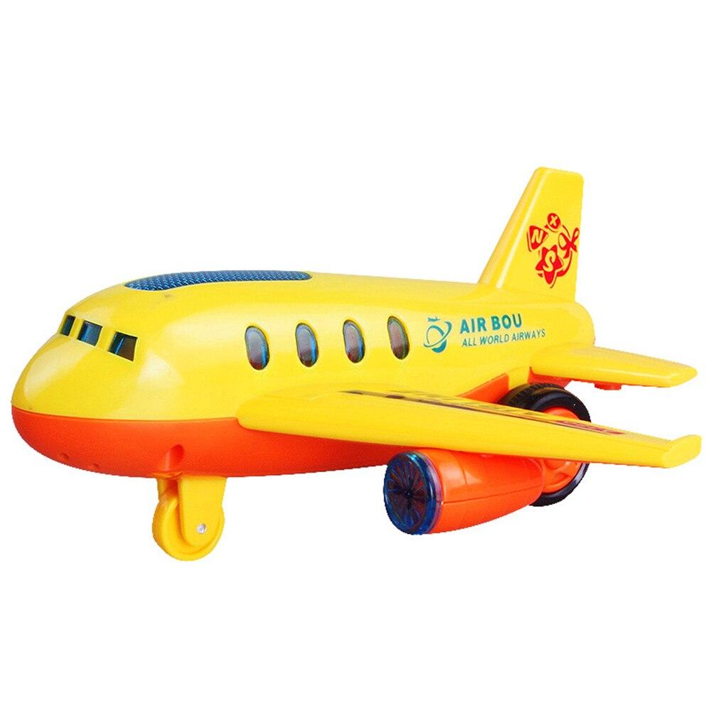Картинка желтый самолет для детей