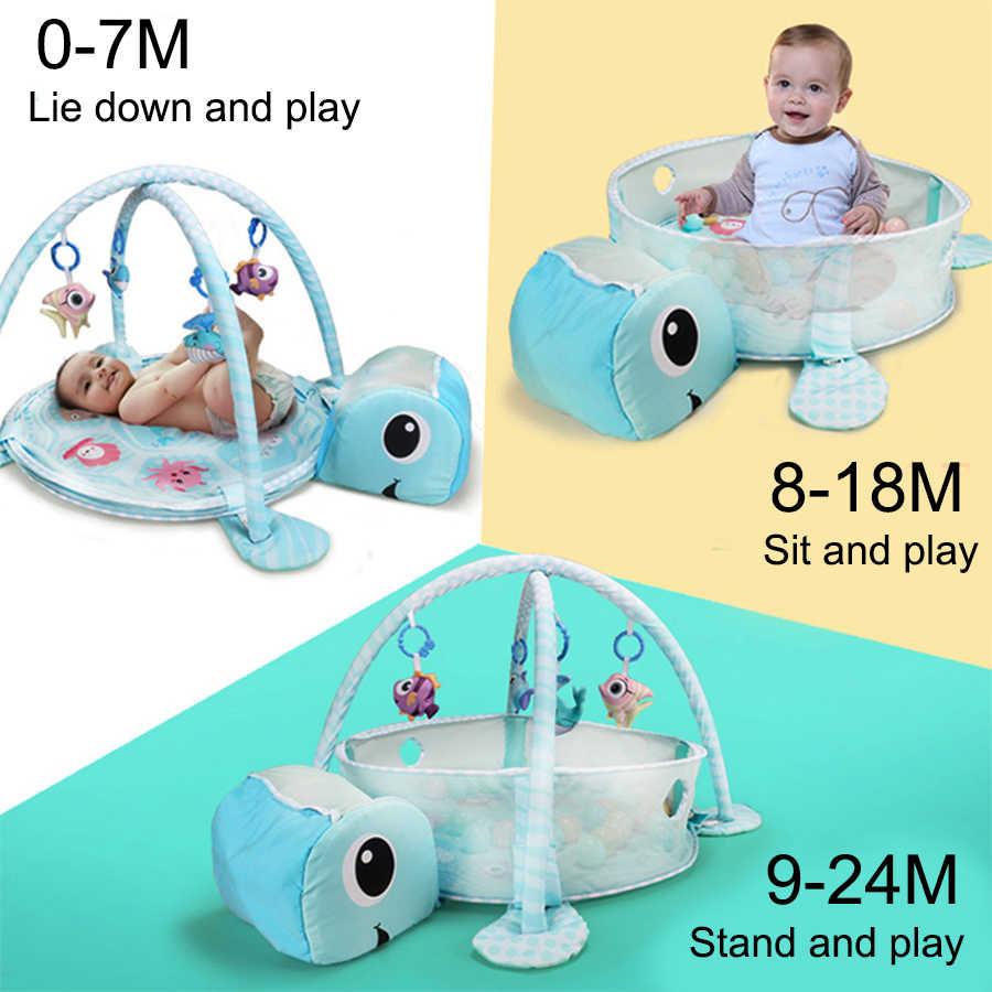 เด็กกิจกรรม Gym mat โรงยิม Playmats การ์ตูนเต่า Multi - function เด็ก olet ยิมที่น่าสนใจ crawling