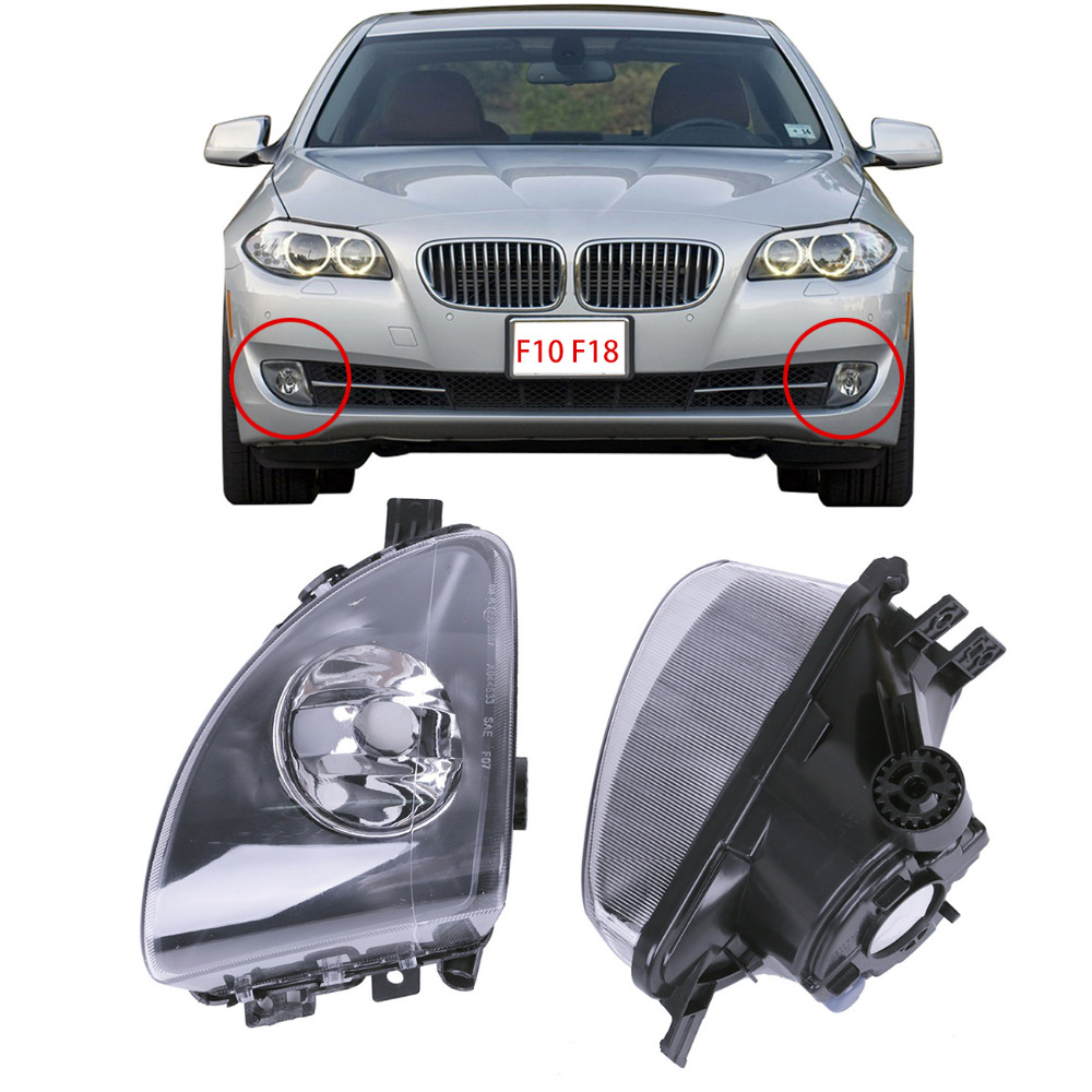 2x Front Driving Fog Light Fog Lamp Assembly For BMW F10 F11 520i 523i 528i 535i 550i Car Styling .#P362 2pcs right left fog light lamp for b mw e39 5 series 528i 540i 535i 1997 2000 e36 z3 2001 63178360575 63178360576