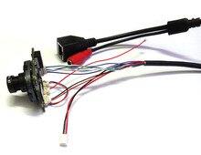 HD IP Camera Module 720P 1.0MP CCTV IPC PCB Main Board Hi3518E 1mp+2.8mm 1080p lens IRC,Hisilicon