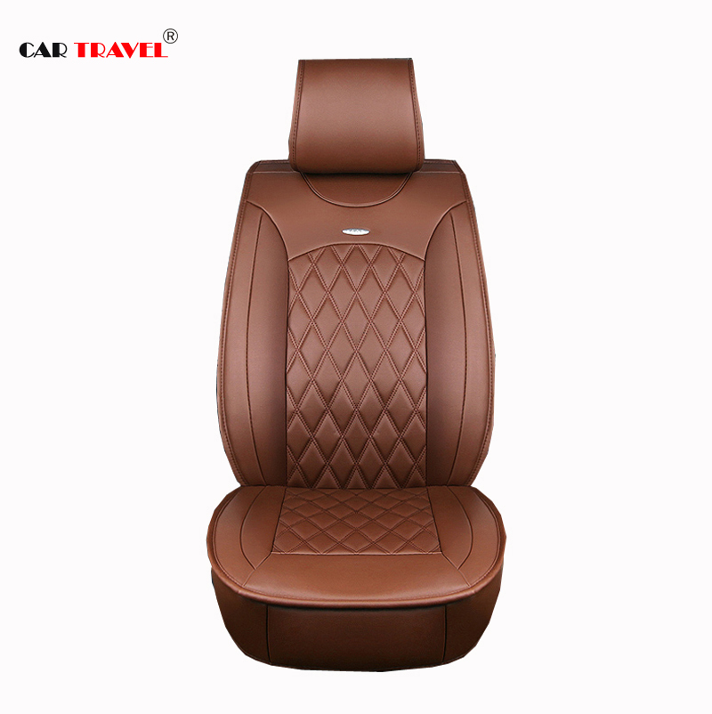 ( Front + Rear ) Special Leather car seat covers For Volkswagen vw passat polo golf tiguan jetta touareg auto accessorie styling car rear trunk security shield cargo cover for volkswagen vw tiguan 2016 2017 2018 high qualit black beige auto accessories