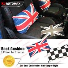 1 pc Algodão Almofada Do Assento de Carro Para Mini Cooper Clubman Compatriota Universal F55 F56 R50 R52 R53 R55 R56 R57 R58 R59 R60 acessórios