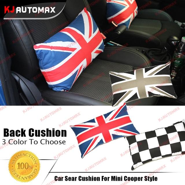 1pc Cotton Car Seat Cushion For Mini Cooper Universal Countryman Clubman F55 F56 R50 R52 R53 R55 R56 R57 R58 R59 R60 Accessories