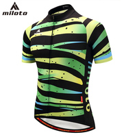 MILOTO Cycling Jersey Mtb Bicycle Clothing Bike Wear Clothes Short Maillot Roupa Ropa De Ciclismo Hombre