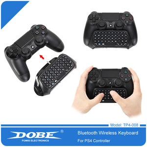 Image 2 - DOBE PS4 Mini Wireless Bluetooth Keyboard PS4 Handle Keyboard For Sony PlayStation PS 4