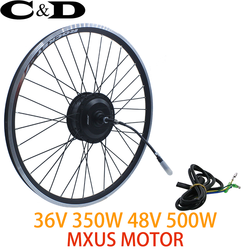 36V350W 48V 500W XF15F XF15R ebike kit Electric bike conversion kit motor wheel MXUS brand