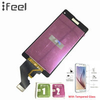 IFEEL 20pcs/lot 100% Tested LCD Display Touch Screen Digitizer Repair Assembly For Sony Xperia Z1 Compact D5503 M51w Z1 Mini