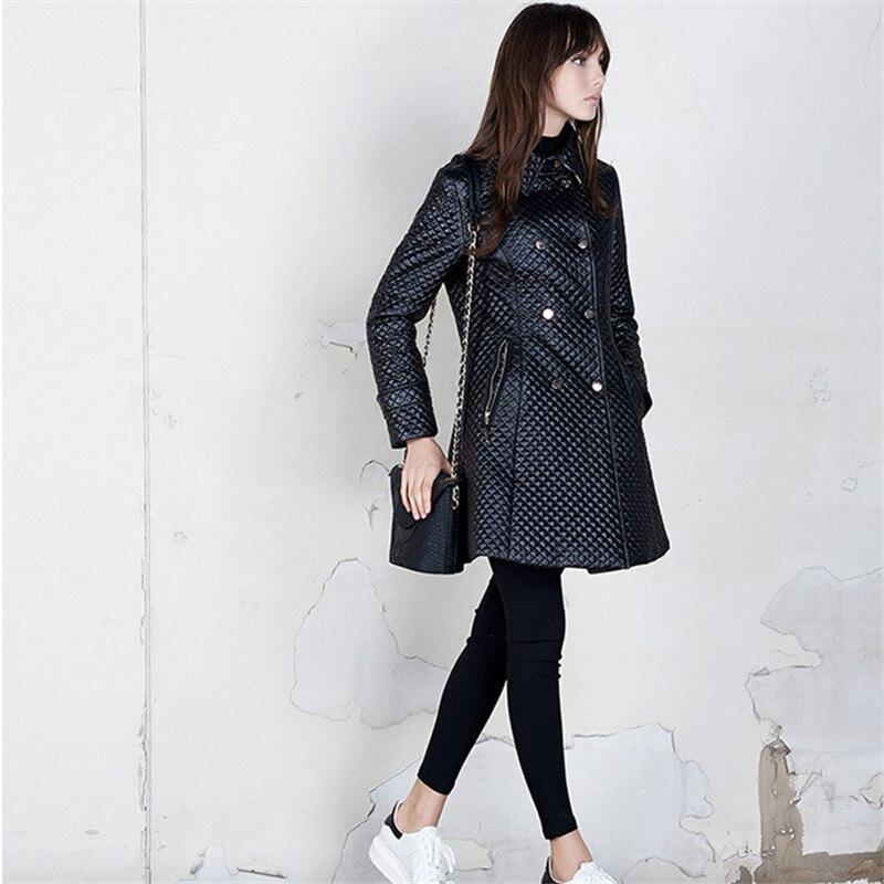 Rembourré Gerrysnowy Mince Veste Ouatée Black Femmes hiver Automne Coton gold blue Femme Manteau 2018 Hiver TTwqaPrxB