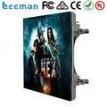 Leeman UL FCC P6, P8, P10 открытый smd литья алюминия прокат светодиодный дисплей/Супер тонкий рекламный светодиодный экран