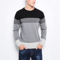 2019 New Autumn Fashion Brand Casual Sweater O-Neck Striped Slim Fit Knitting Mens Sweaters And Pullovers Men Pullover Men M-5XL 5