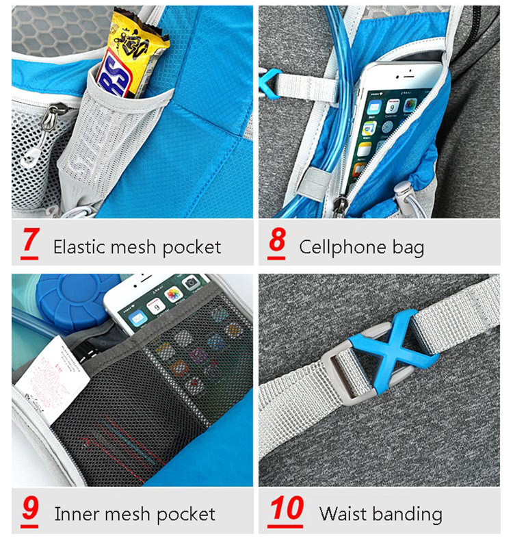 2951fbfe1 12L Biking Hydration Backpack Portable Sports Water Bags Cycling ...