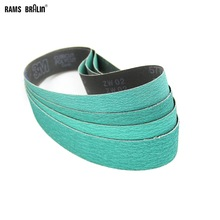 "4 pieces 915*50mm Z/A 577F Sanding Belts 2""*36"" Abrasive Grinding Bands P40 P60 P80 P120 Assorted"