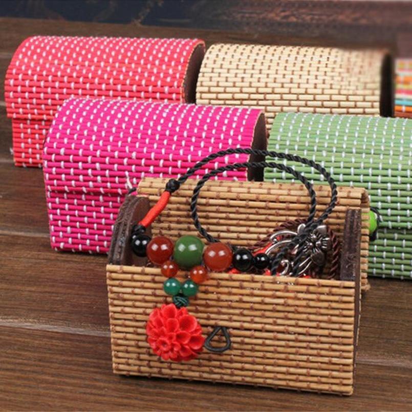 Joyero de madera al por mayor para la joyería del organizador de la - Organización y almacenamiento en la casa
