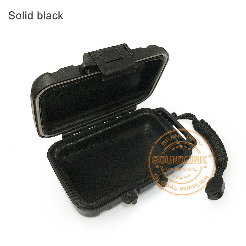 black earphone case