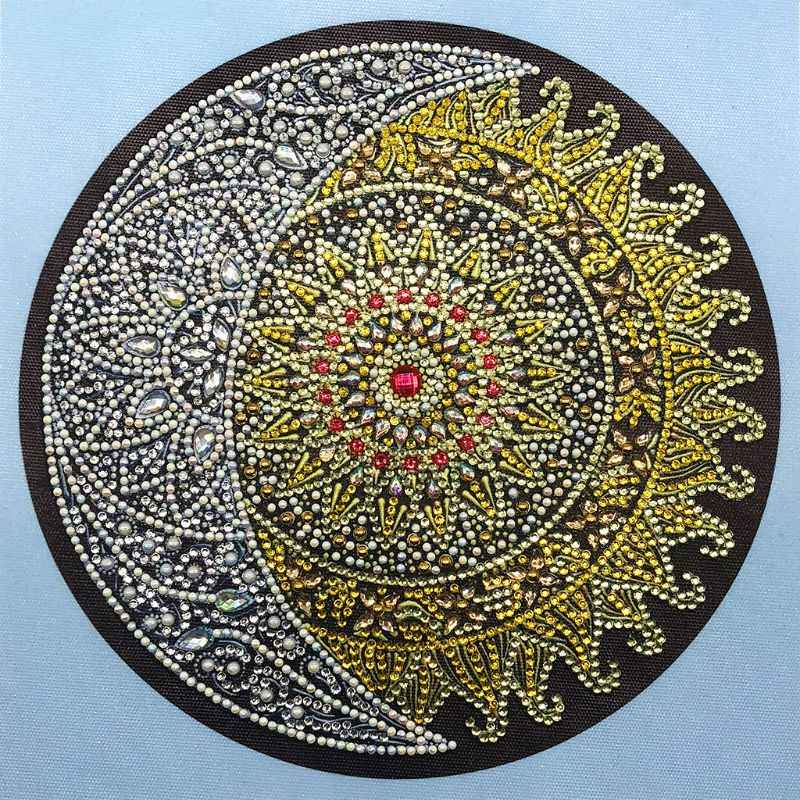 Abstract Pattern 5D Special Shaped Diamond Painting Embroidery Needlework Rhinestone Crystal Cross Craft Stitch Kit DIY