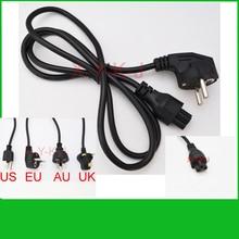 Высокая quality1pcs AC Мощность шнур Кабель-адаптер для ноутбука lead переходник с вилкой EU US AU UK все