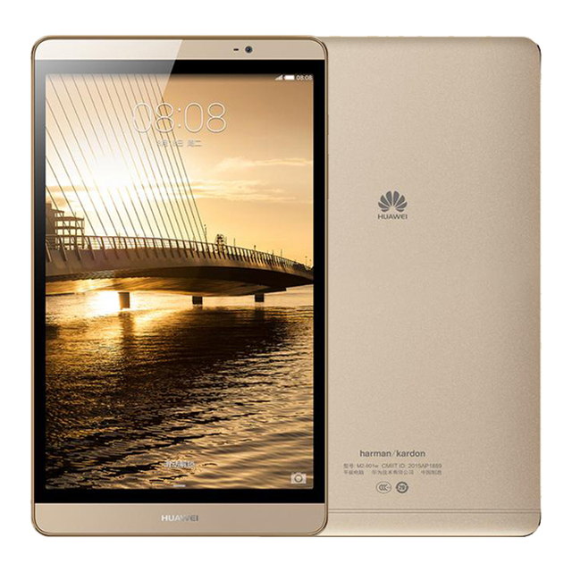 Оригинальный Huawei MediaPad M2 8.0 дюймов Android Tablet PC 3 ГБ оперативной памяти 32 ГБ ROM KIRIN 930 Octa core 1920X1200px 8MP 4800 мАч Wi-Fi