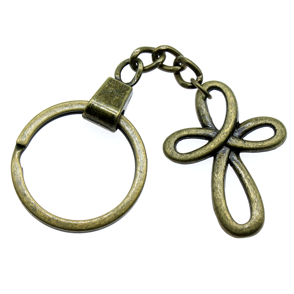 Mix Religious Cross Key Chain For Diy Handmade Gifts Keychain Pendant in Key Chains from Jewelry Accessories