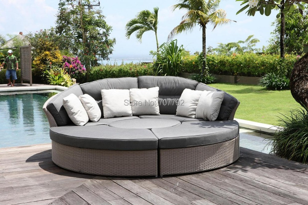 2017 Sofa Furniture Cheap Outdoor Wicker Furniture Rattan Sofa In Garden  Sofas From Furniture On Aliexpress.com | Alibaba Group