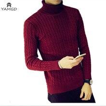 2016 NEUE Männer Winter Warm Rollkragen Pullover Thermische Pullover Multi farbe option Solides design Weich und Warm kostenloser versand/S-XXXL