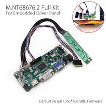 LCD Controller Board HDMI DVI VGA Audio PC Module Kit For 15.6 Inch Display B156XW02 1366X768 1ch 6/8 bit 40pins lcd panel