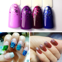 12pot Set High Gloss Nail Powder Glitter Acrylic Powder Dust Nail Art Tip Decoration Make Up