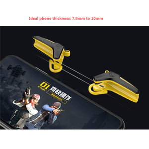 Image 3 - PUBG Mobile Controller Gamepad Trigger For iOS Android L1 R1 Joystick Mobile Games Shooter PUBG Fire Button Aim Key Accessories
