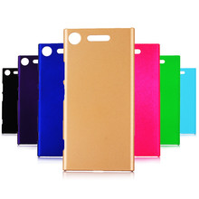 Phone Cases sFor Sony Xperia XZ1 Case 360 Matte Hard plastic PC Candy Color Back Cover For Sony XZ1 Mini XZ Premium Case case for sony xperia l1 x xa ultra case wallet leather cover for sony xperia xz xr xz1 xz premium compact business style case