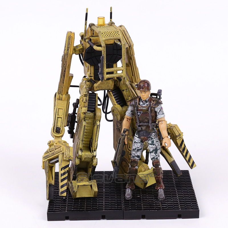 Original ALIENS Colonial Marines Quintero & Power Loader PVC Action Figure Collectible Model Toy
