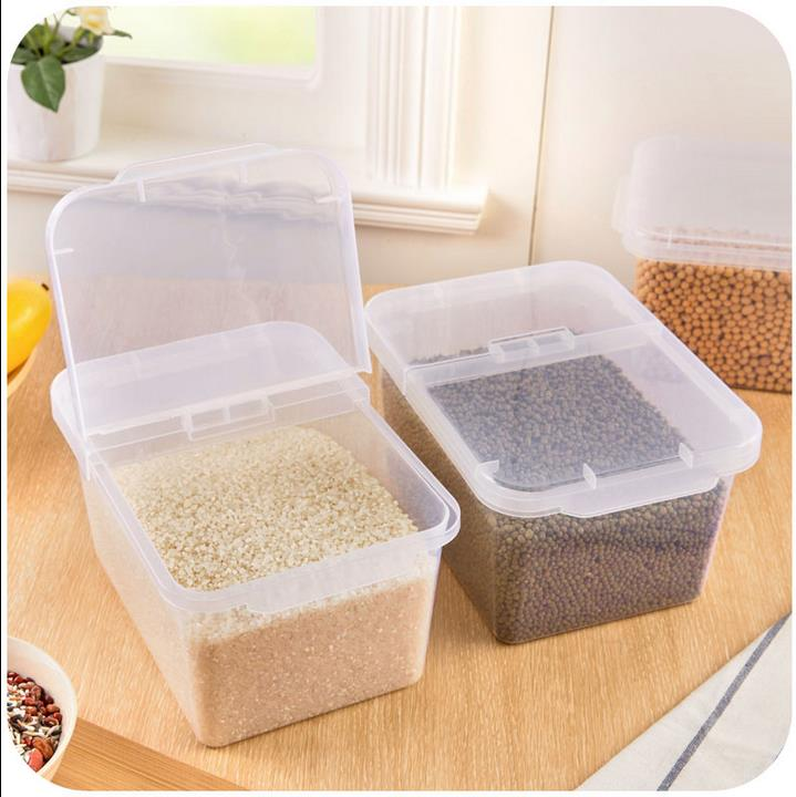 Kitchen Container plastic storage box home large 4L capacity