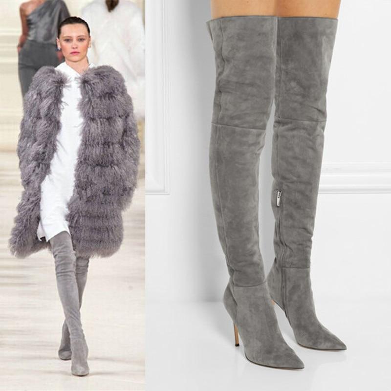 Online Get Cheap Thigh High Designer Boots -Aliexpress.com ...