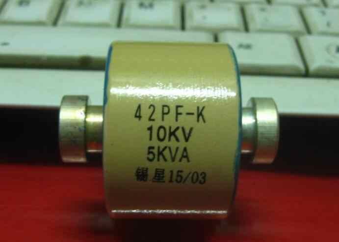 40PF-K 10KV 5KVA RF Máy Sấy Tụ Gốm Điện Áp Cao Gốm Điện Môi Tụ Tần Số Cao Máy Tụ