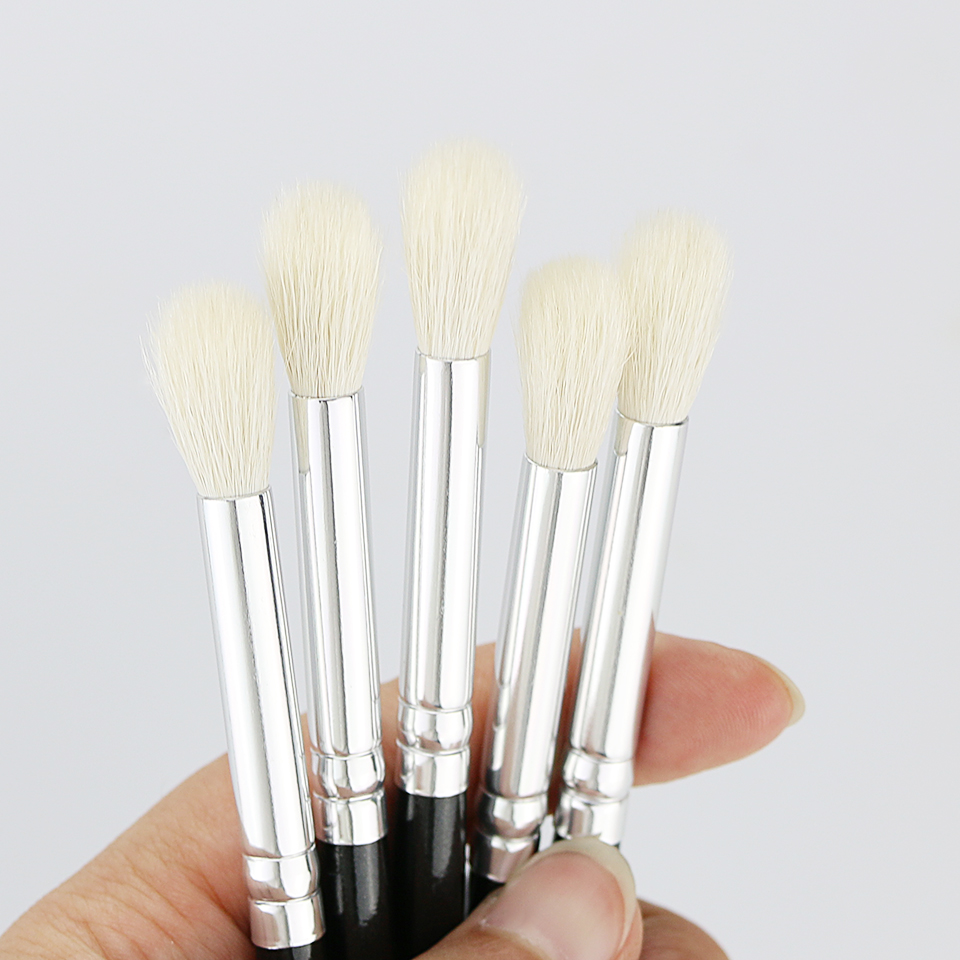 BEILI 228 # 100% Gedehår Øjenskygge Crease Makeup Brush Rose Golden - Makeup - Foto 6