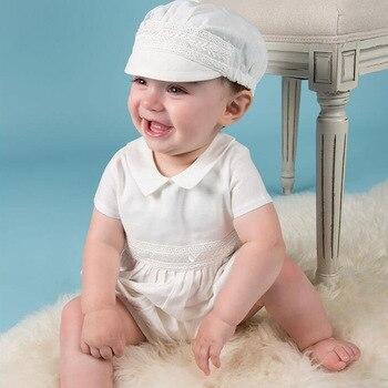 04a6ec482 2019 1 año cumpleaños bebé niño ropa para bautismo bebé niño bautizo  vestido recién nacido Niño Infante ropa