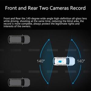 Image 4 - جادو D820s X2 جهاز تسجيل فيديو رقمي للسيارات تيار مرآة الرؤية الخلفية داش كاميرا avtoregistrator 10 IPS اللمس شاشة كامل HD 1080