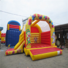inflatable font b bouncer b font castle kids inflatable slide with CE UL blower YLW font