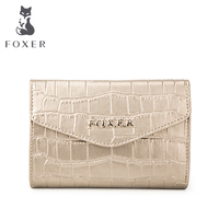 Designer High Quality CROCO Embossing Leather Women Wallets And Purse