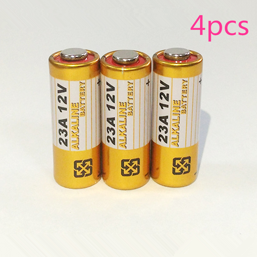4pcs Alkaline Battery 12V 23A Battery 12V 27A 23A 12 V 21/23 A23 E23A MN21 RC Control Remote Controller Battery RC Part